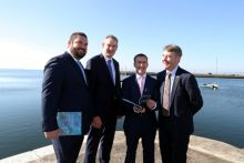 Danial Norton, SEMRU, Damien English TD, Sean Kyne TD, Peter Heffernan, Marine Institute