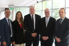 Dr. Ciaran Kelly, Dr. Louise Allcock, Dr. Philip McGinnity, Prof. Mark Ferguson and Mark Johnson