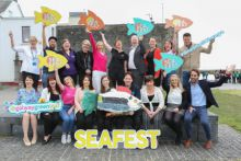 SeaFest Supporters. Photo Aengus McMahon