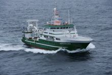 Ireland's research vessel RV Celtic Explorer is the platform for the trans-Atlantic survey
